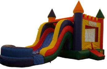 Inflatalbe Moonwalk Slide Rental in Massachusetts (MA).