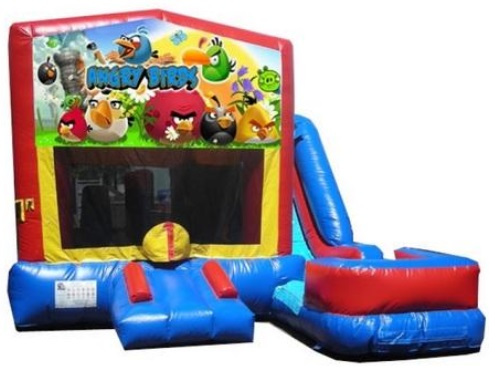 Angry Birds Bounce House/Water Slide Rentals in Central Massachusetts