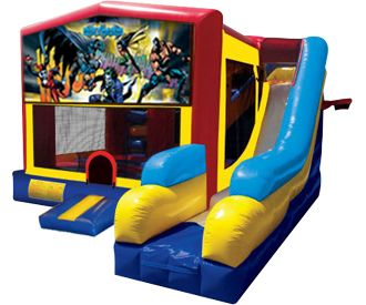 Batman Bounce House/Water Slide Rentals in Worcester MA