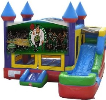 Boston Celtics Bounce House/Water Slide Rentals in Worcester MA