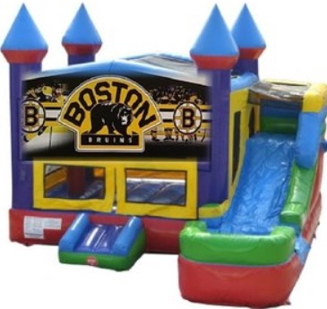 Boston Bruins Bounce House/Water Slide Rentals in Worcester MA