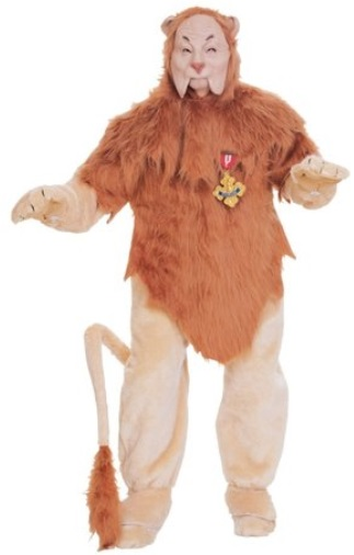 Wizard of Oz: Cowardly Lion Costume Rentals in Massachusetts