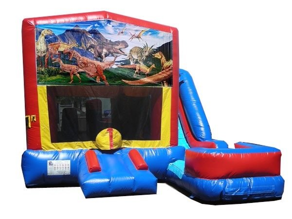 Dinosaurs Bounce House Water Slide Rentals in Northborough/Southborough MA