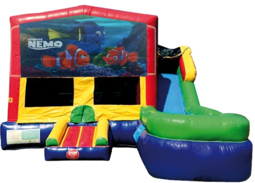 Finding Nemo Inflatable Bounce House/Water Slide Rentals in Central Massachusetts