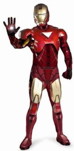 Authentic Iron Man Halloween Costume Rentals in Worcester MA & Shrewsbury MA