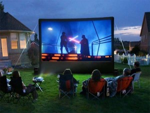 Large Movie Screen & Projector Rentals in Massachusetts