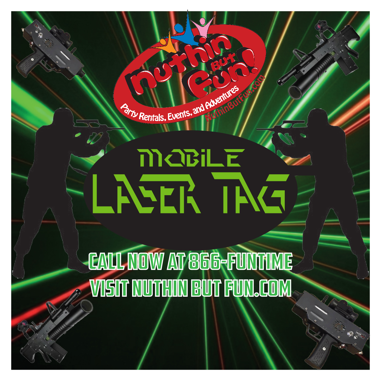 MASS Laser Tag Tournament Party Rentals in Berlin, Massachusetts.