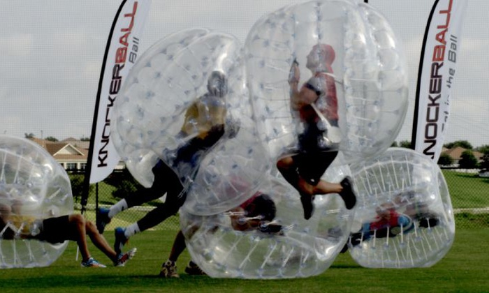 MASS Knockerball Tournament Party Rentals in Massachusetts.