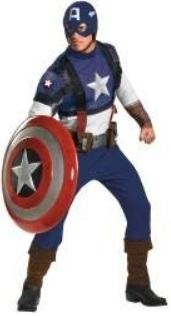 Authentic Captain America Costume Rentals in Worcester MA and Leominster MA