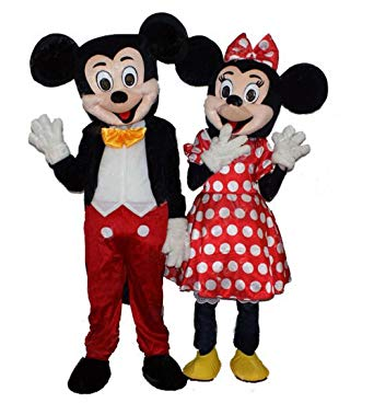 Authentic Mickey/Minnie Mouse Costume Rentals in Worcester MA & Boston, Massachusetts