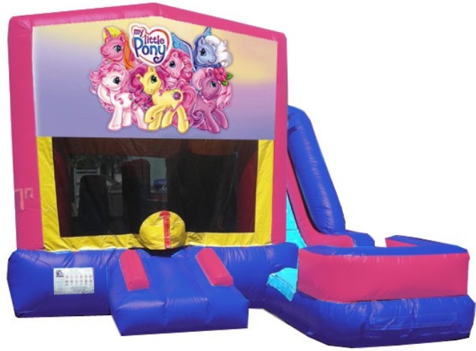 My Little Pony Bounce House Water Slide Rentals in Massachusetts