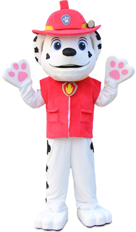 Paw Patrol: Marshall Halloween Costume & Mascot Suit Rentals in Worcester/Boston, Massachusetts