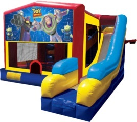 Toy Story Bounce House Water Slide Rentals in Worcester MA