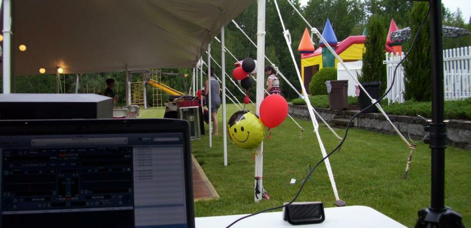Affordable Party Tent Rentals & Moonwalk Rentals in Hudson, Massachusetts.